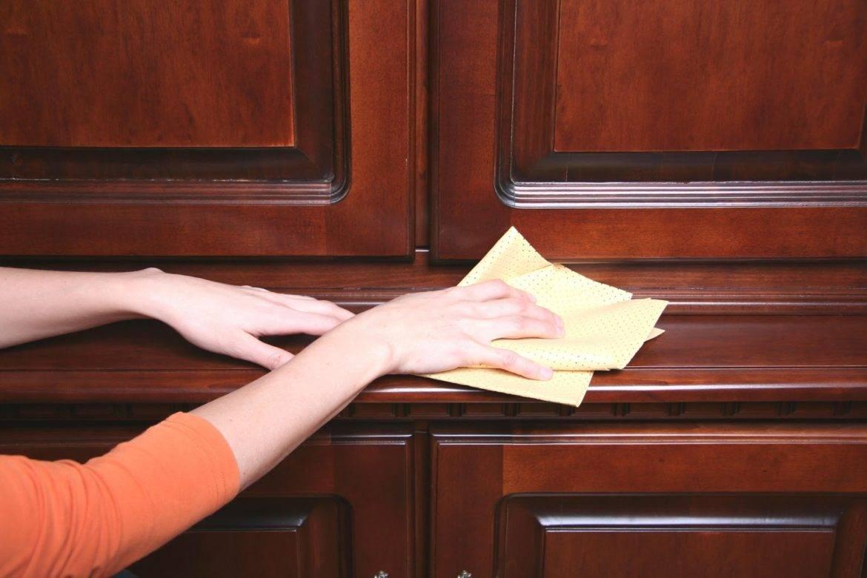 Как отмыть кухонный гарнитур от жира в домашних условиях