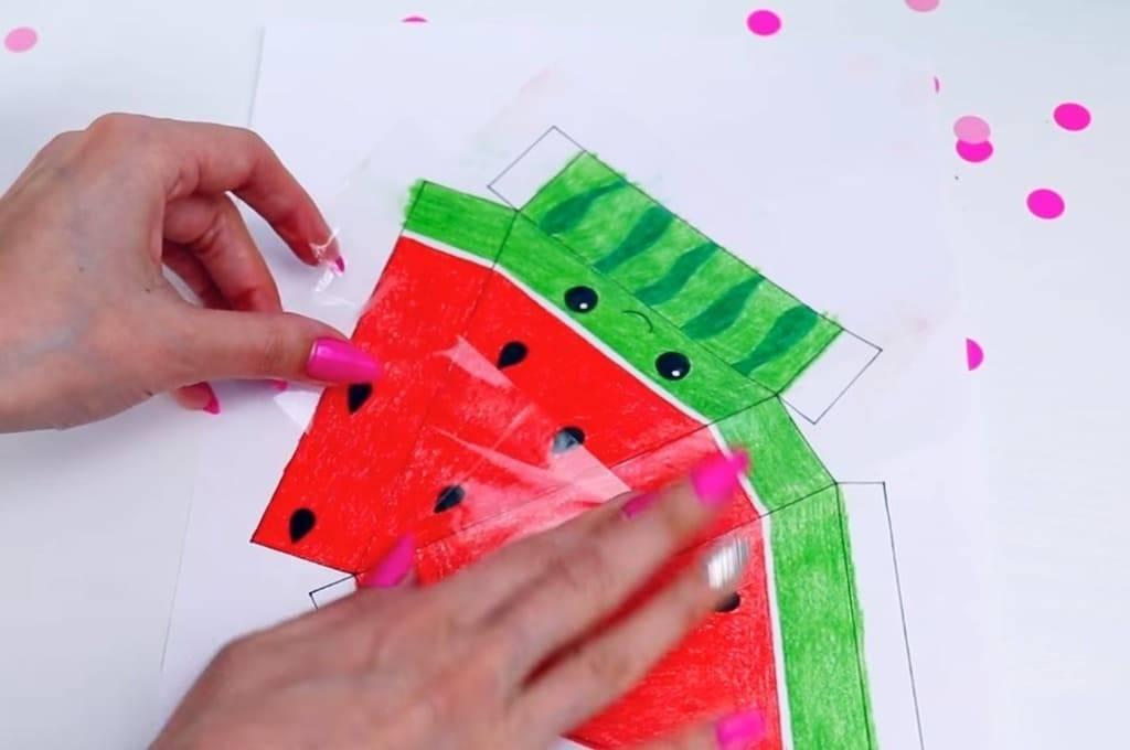 Как сделать сквиши из бумаги своими руками и губки в домашних условиях