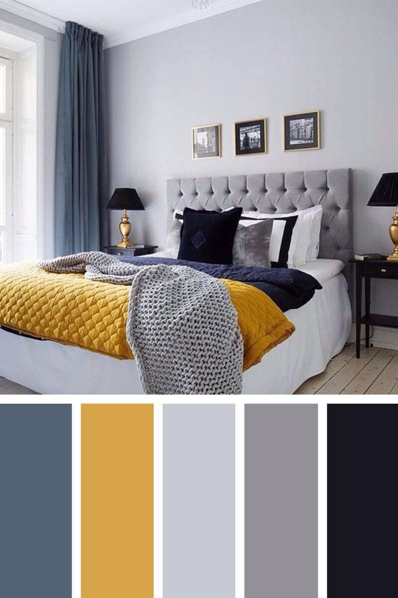 Выбираем цвет стен в спальне: сочетание, советы, правила удачного интерьера