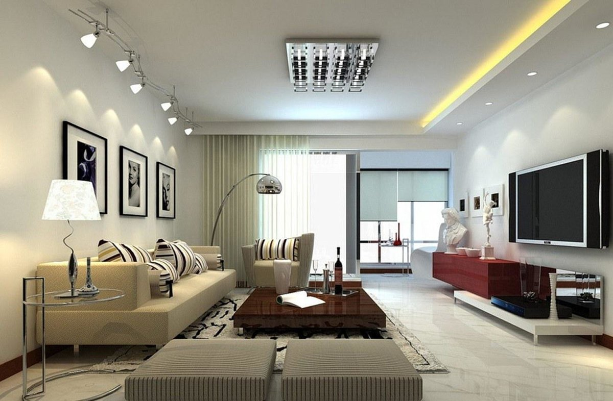 Оформление стены над диваном в гостиной фото его