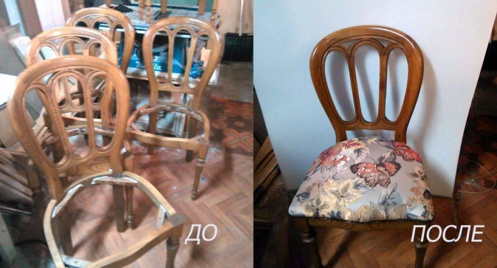 Реставрация старого венского стула своими руками в домашних условиях