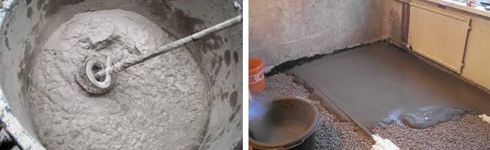 Как замесить цемент своими руками правильно и в нужных пропорциях