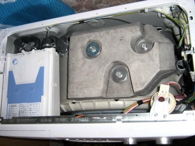 Сильная вибрация стиральной машины при отжиме