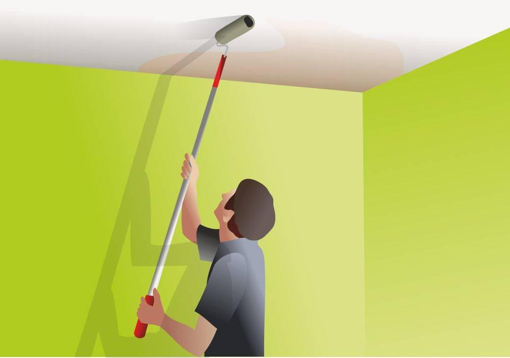 окраска стен и потолков картинки кого медленное подключение