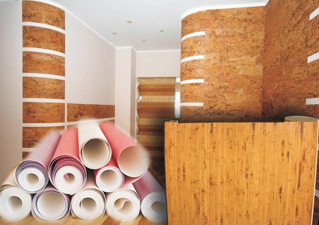Строительные материалы для отделки стен