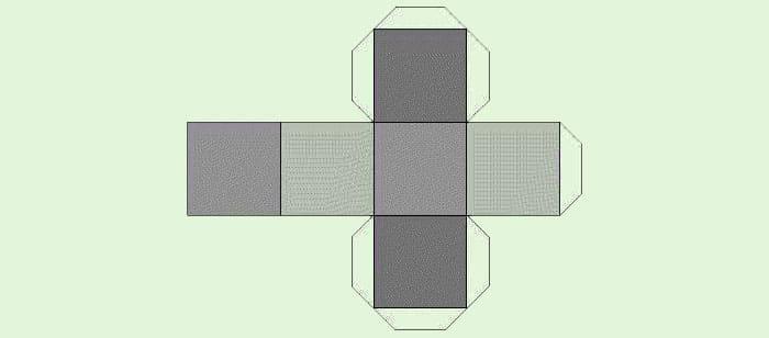 Легко и быстро: как сделать куб из бумаги