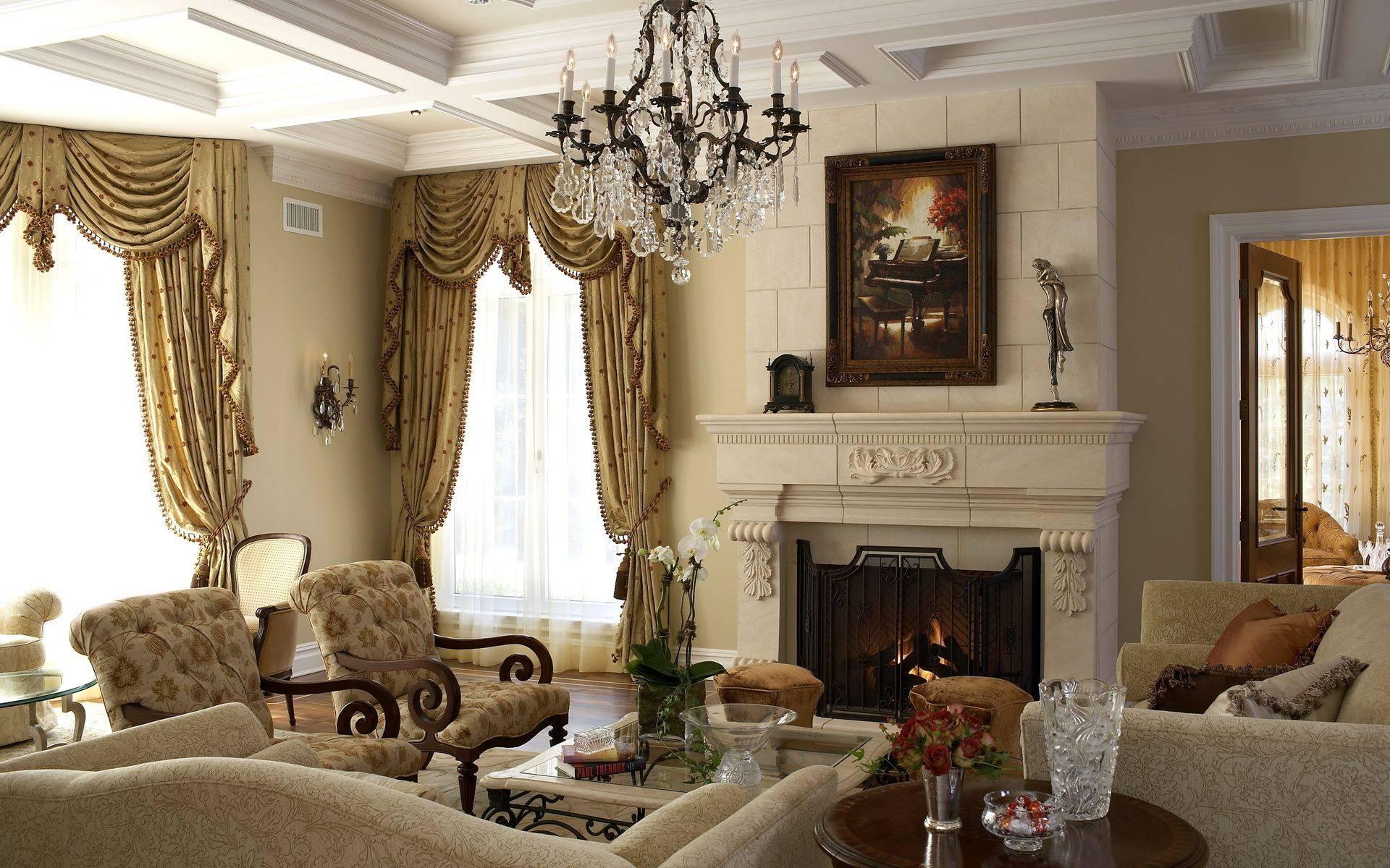 Дизайн гостиной в классическом стиле – беспроигрышный вариант оформления