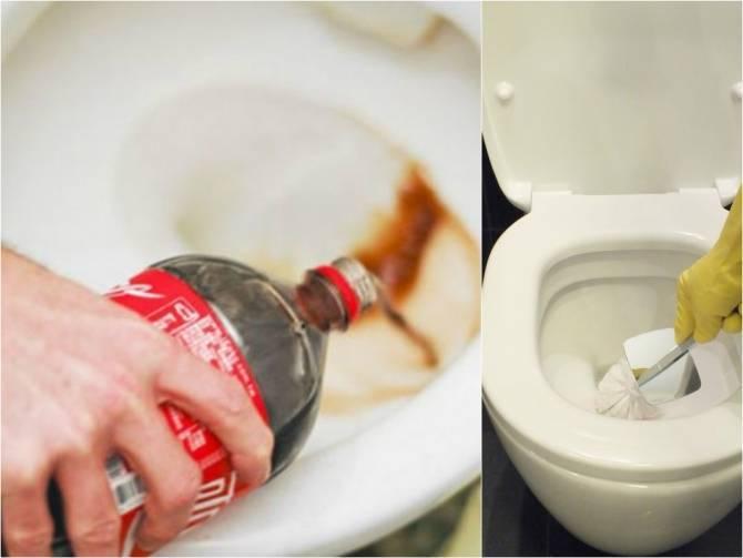 Как отмыть загрязнения и удалить ржавчину с унитаза в домашних условиях?