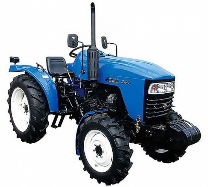 Популярные в домашнем хозяйстве мини-трактора
