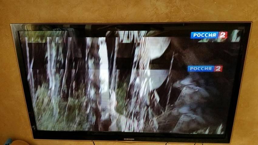 явление вызывает распадается картинка на телевизоре собираетесь