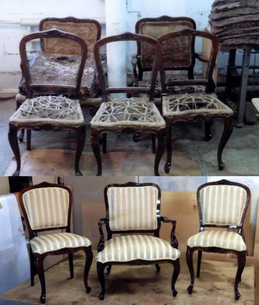 Правила ремонта мебели в домашних условиях, важные нюансы