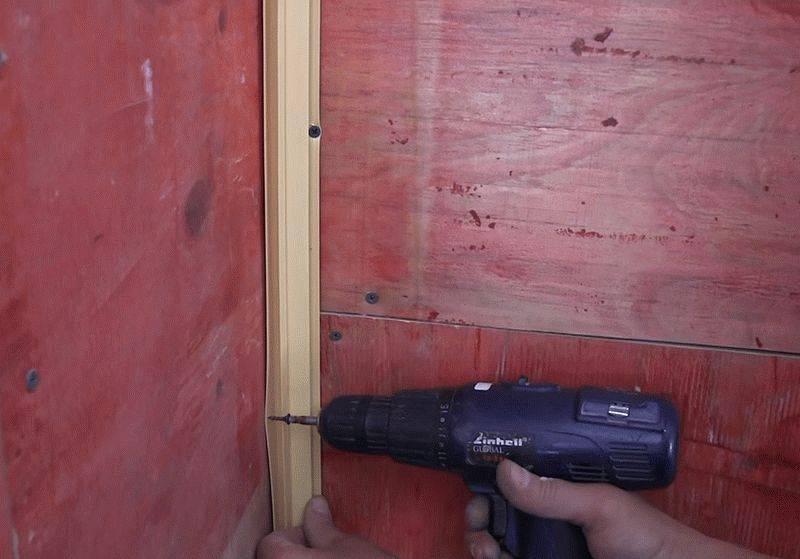 как установить стеновые панели фото