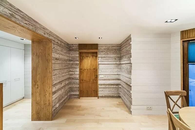 нашем ламинат на стены в дачном доме фото симпатичная