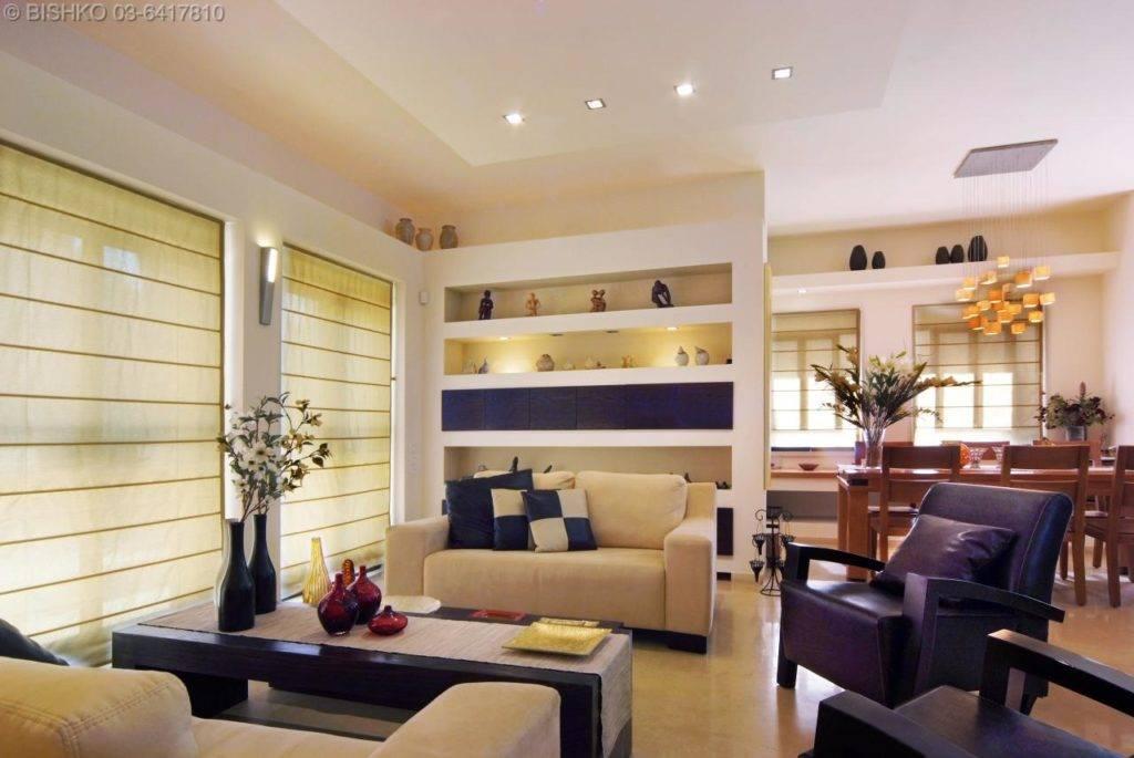 Интерьер гостиной в квартире: современные стили дизайна для маленьких комнат с фото
