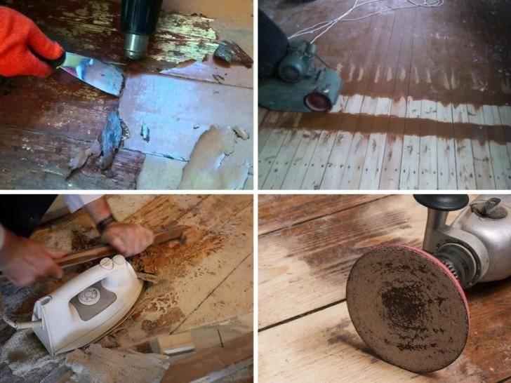 Как снимать старую краску с деревянных поверхностей в домашних условиях