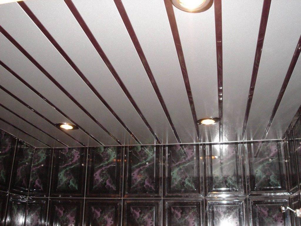 Картинки потолок из панелей пвх