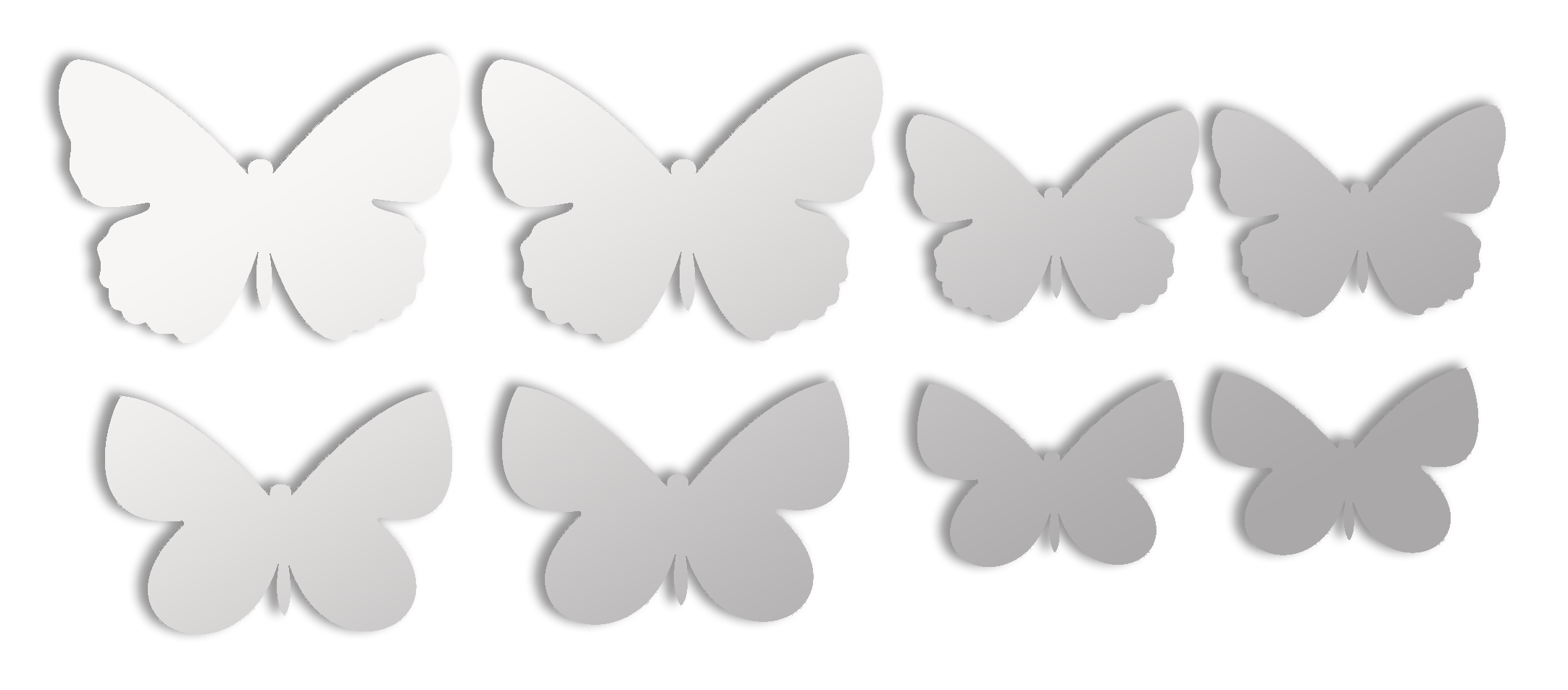 Декорируем стены бабочками своими руками