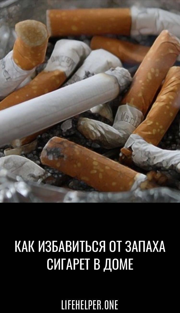 Как избавиться от запаха сигарет в квартире: эффективные способы