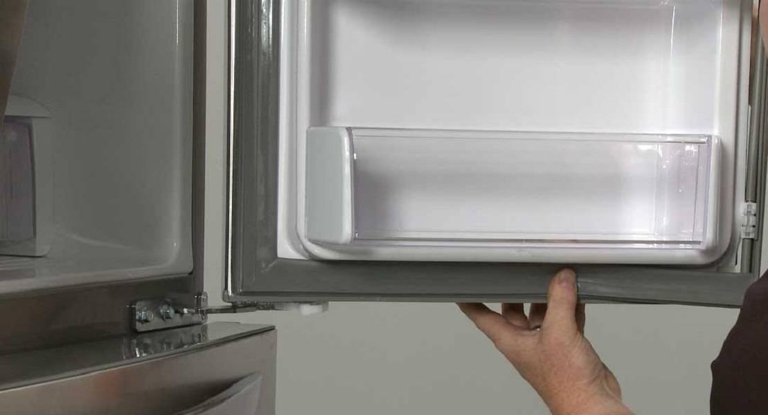 Отходит резинка на холодильнике (порвалась, отклеилась)