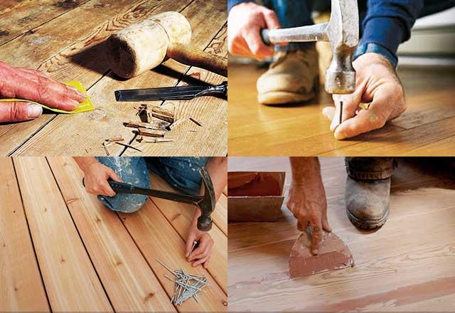 Как устранить скрип деревянного пола своими руками - 5 лучших способов!