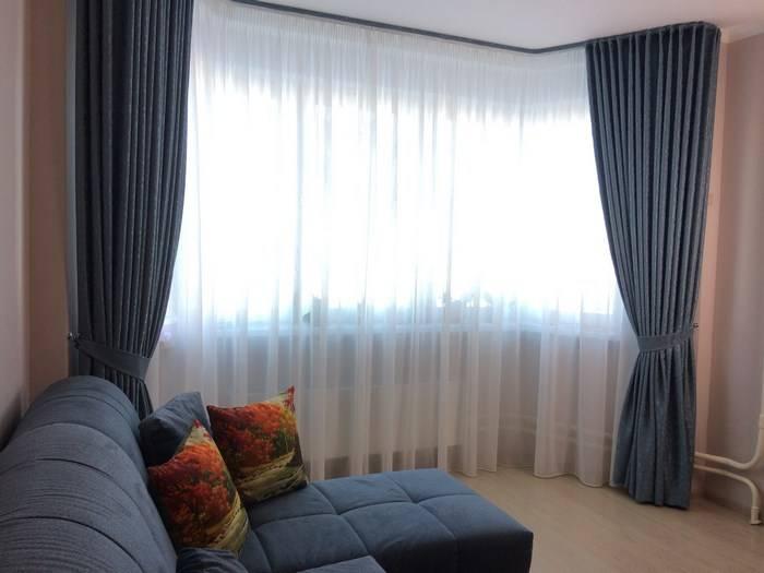 Портьера: что это такое, ткань для штор в гостиную