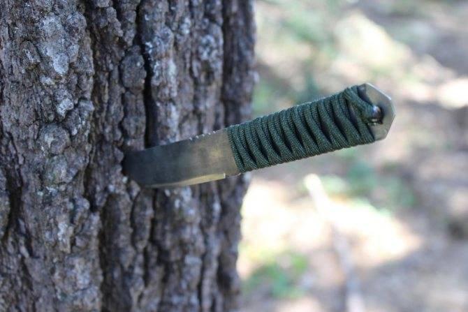 Нож из рапида своими руками
