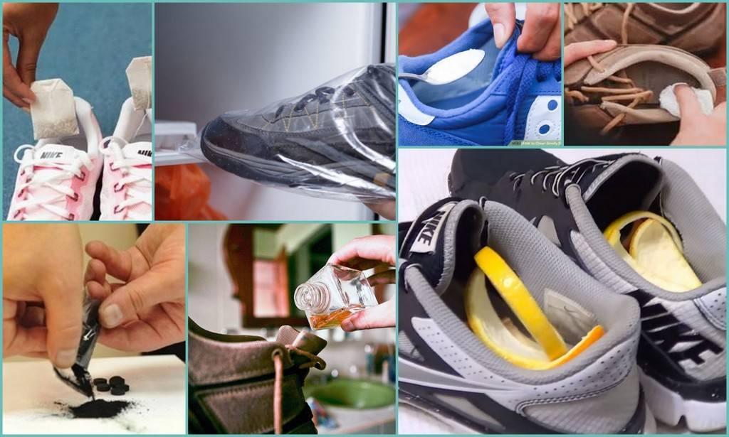 Как быстро убрать неприятный запах из обуви