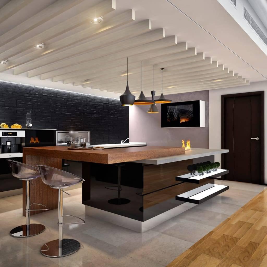Необычные кухни: особенности оформления дизайна интерьера, фото оригинальных решений и лучших идей
