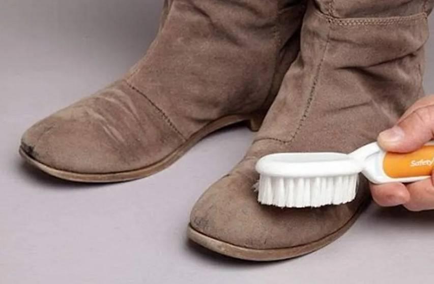 Советы по уходу за замшевой обувью, особенности материала