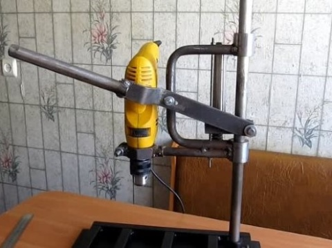Сверлильный станок: как сделать самому, компоненты, чертежи, изготовление