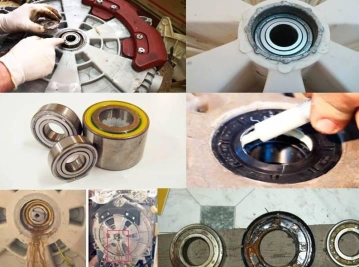 Замена подшипников в стиральной машине samsung diamond