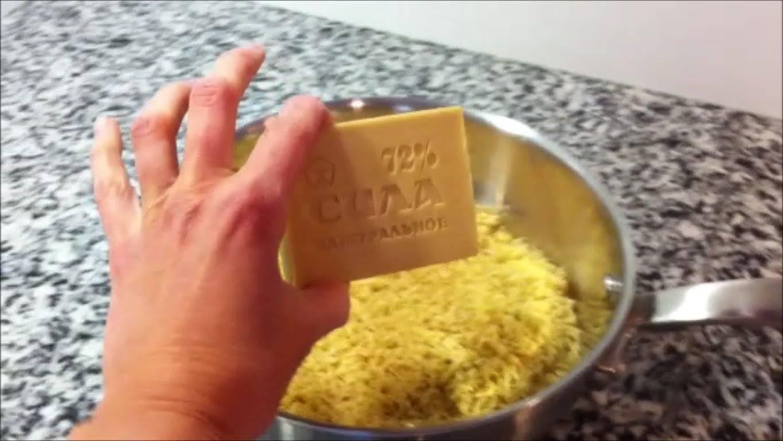Как сделать гель для стирки дома своими руками
