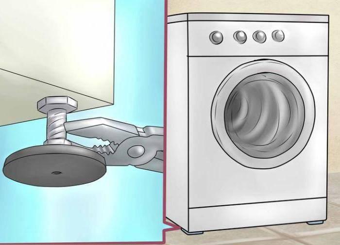 Почему стиральная машина прыгает при отжиме и что делать?