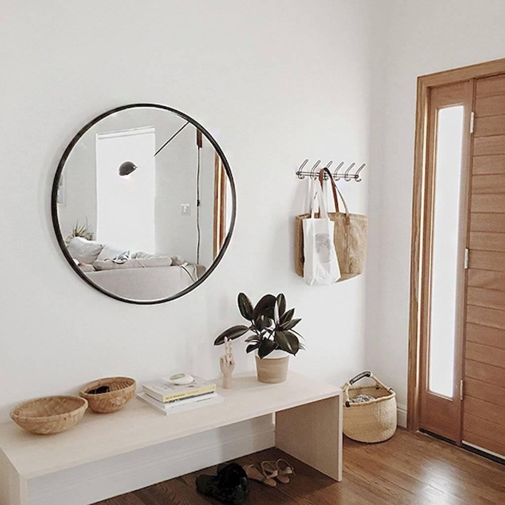 Зеркала в интерьере прихожей (61 фото): как правильно повесить и оформить