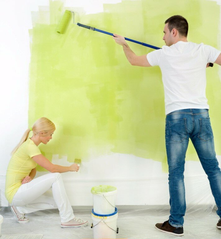 Ремонт в картинках на стену