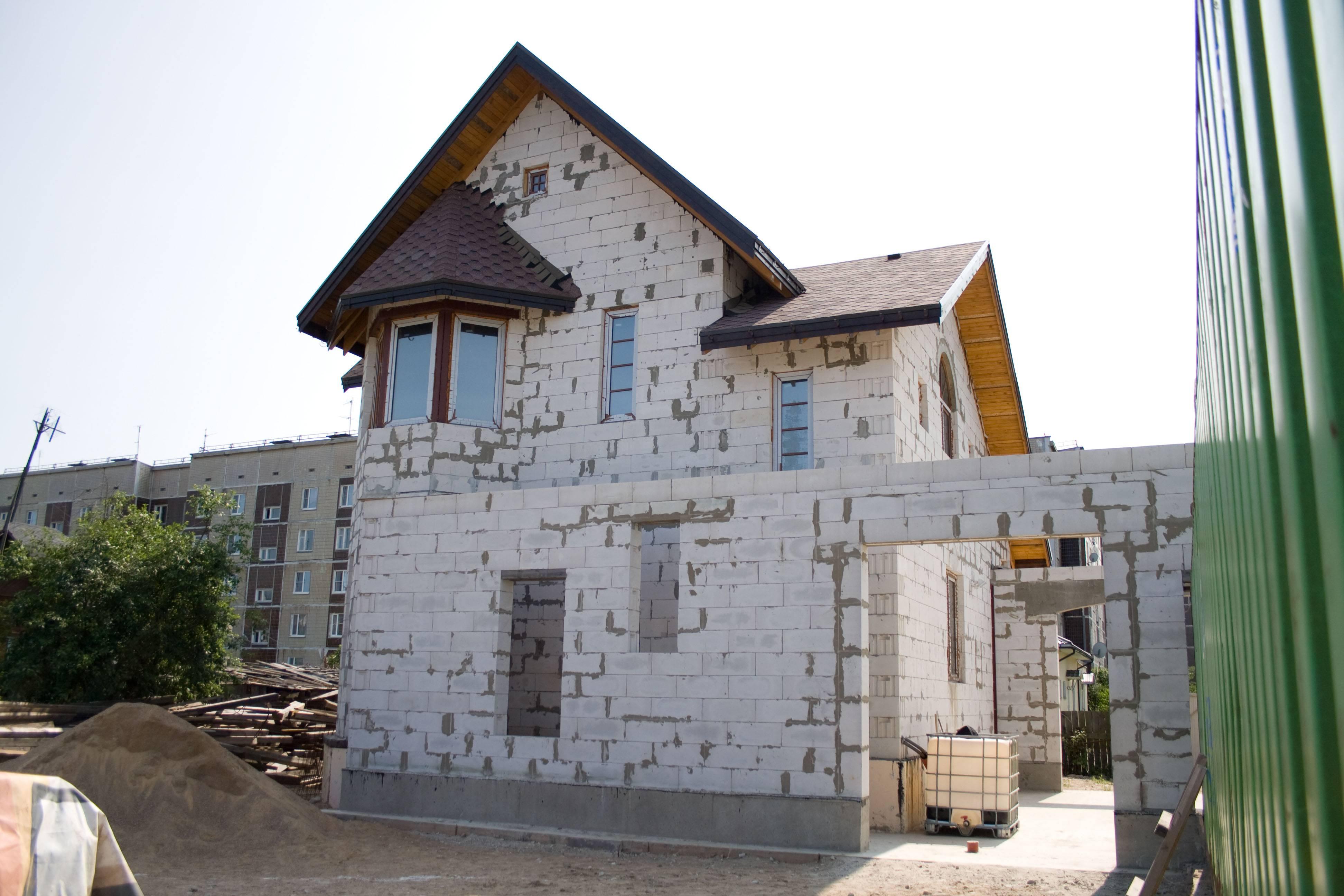 старый дом из газобетона фото отзывы других