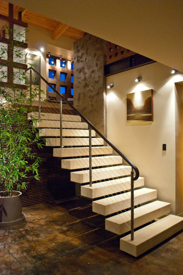 туалетом, теплицей, освещение лестницы на второй этаж фото дзен