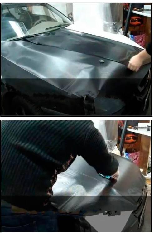 Как оклеить автомобиль пленкой своими руками?