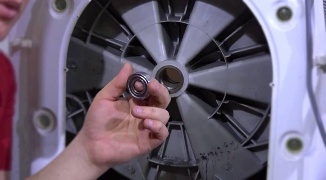 Замена подшипника на стиральной машине самсунг