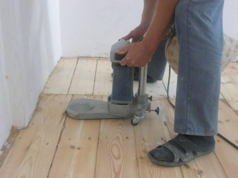 Как снять краску с деревянной поверхности