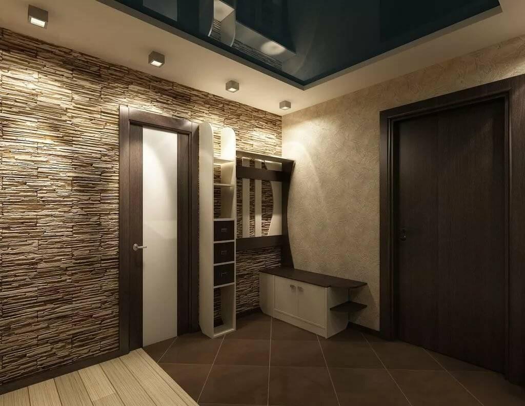 Обои для оформление коридора в квартире фото преимуществ
