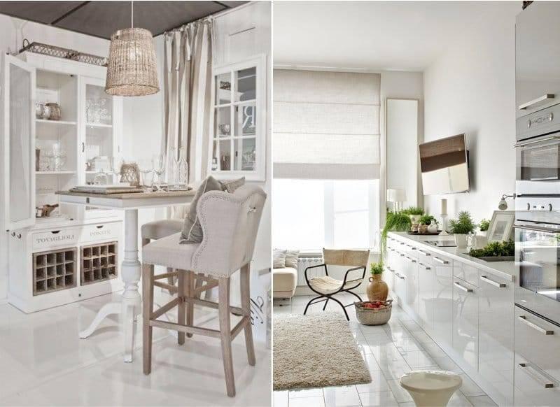Бежевая кухня - 120 фото основных преимуществ и недостатков бежевого цвета