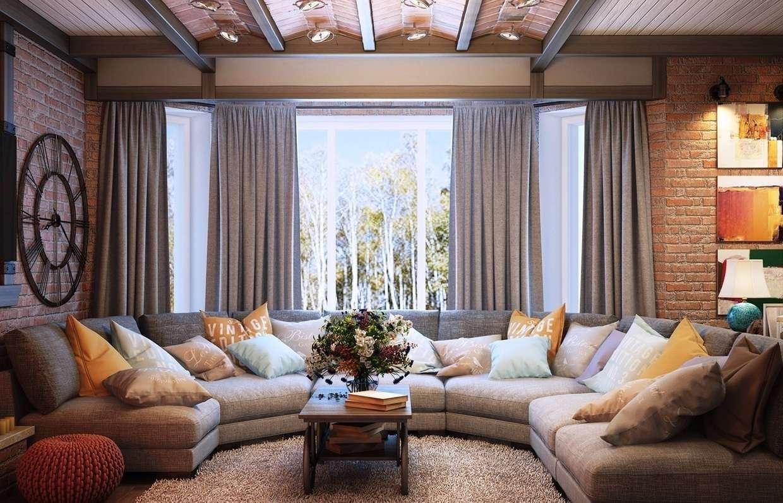 Гостиная в частном доме: интересные идеи интерьеров, стилистические направления. правила планировки гостиной. 65 фото оригинальных идей для интерьера гостиной в частном доме