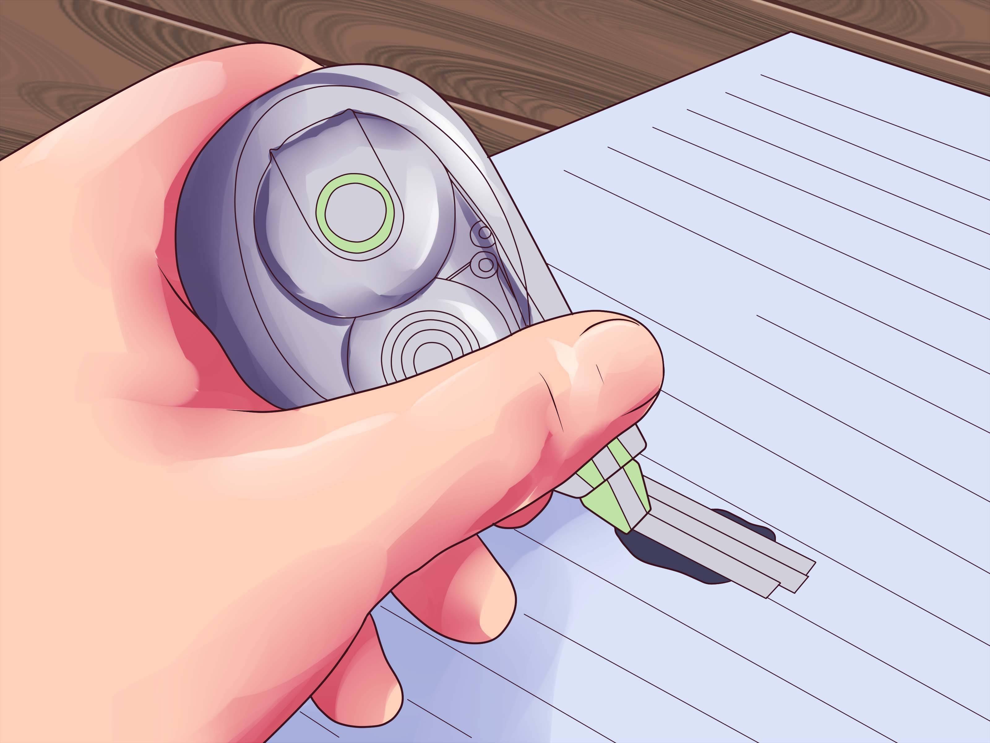 Простые способы стереть ручку с бумаги без следов