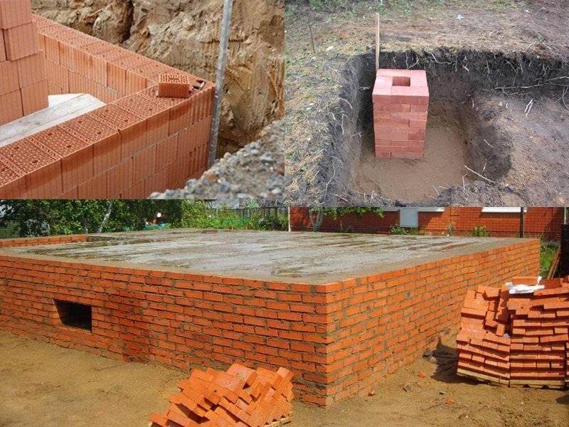 Какой фундамент выбрать для строительства частного дома, виды и особенности