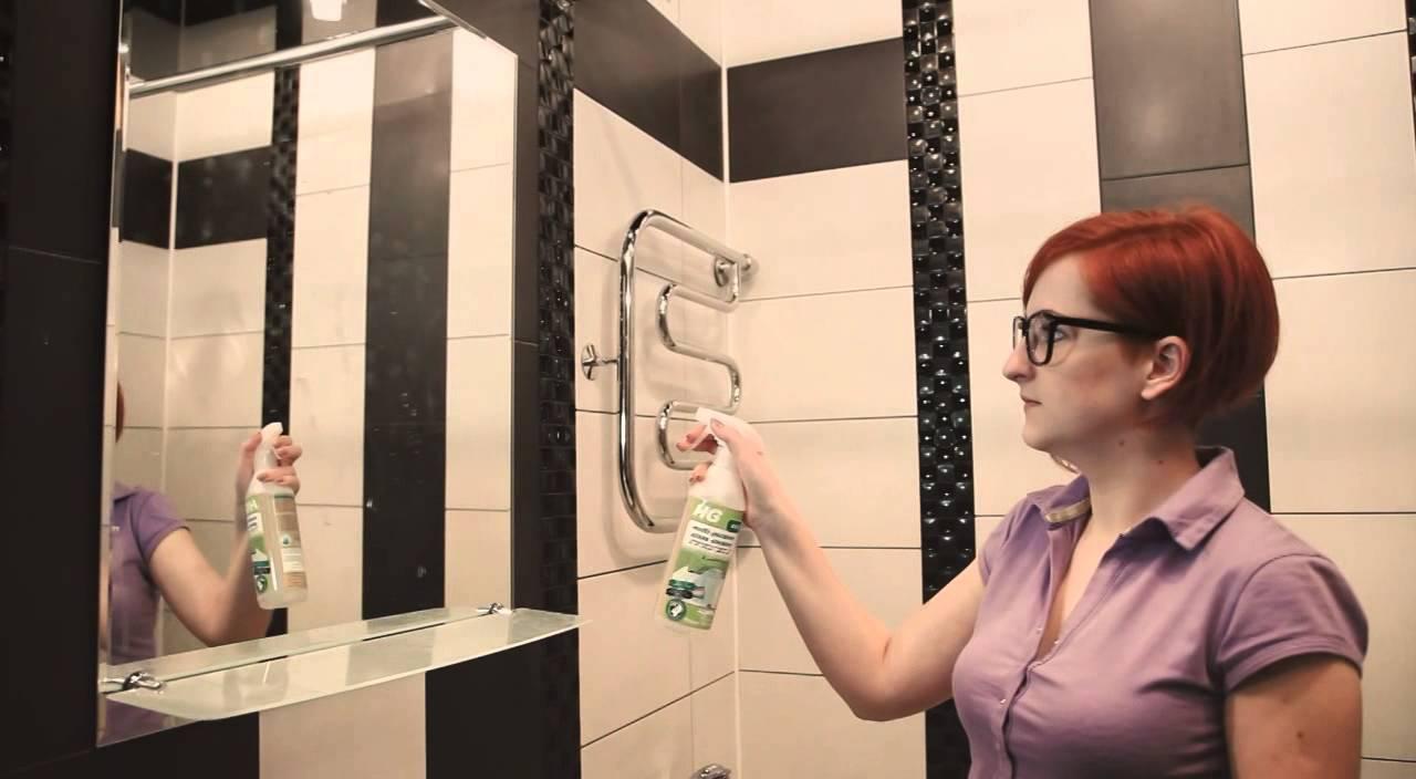 Как почистить зеркало без разводов подручными средствами