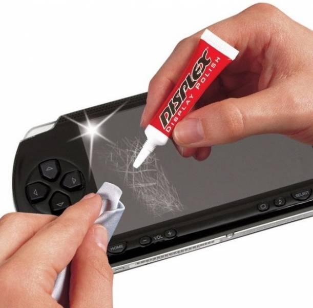 Как убрать царапину с экрана смартфона