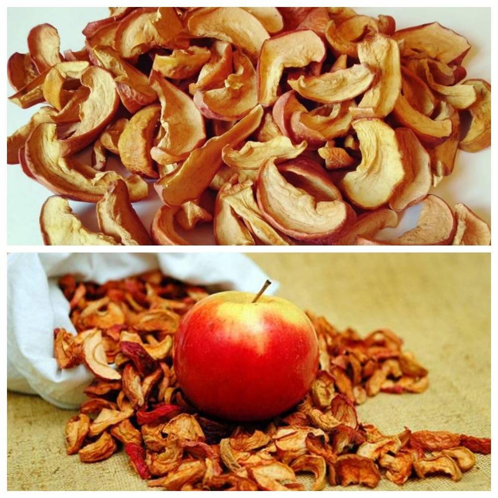 Как правильно хранить сушёные яблоки на зиму в домашних условиях