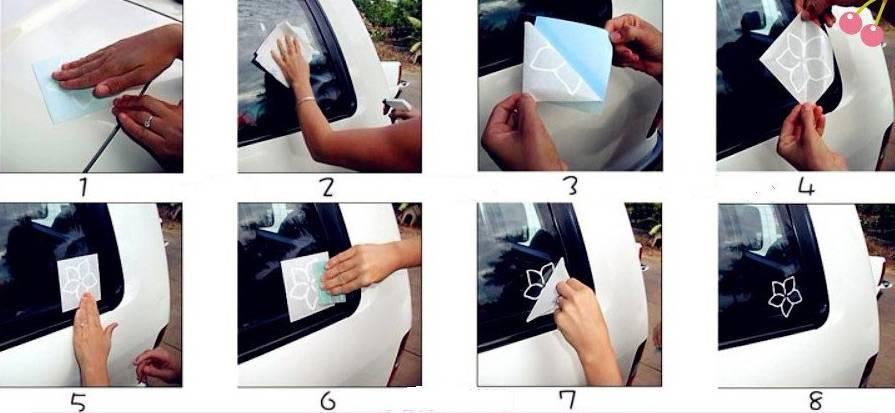 Как правильно клеить пленку на автомобиль