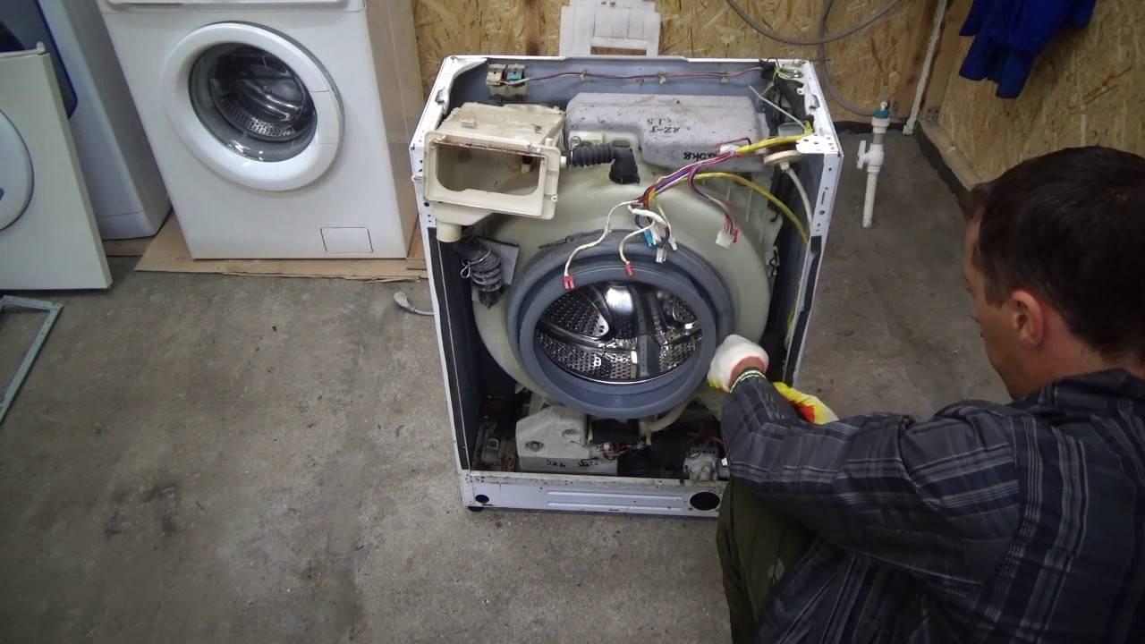 Замена подшипника на стиральной машине